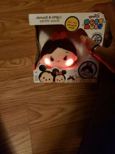 Disney Tsum White Chatter Plush Figure