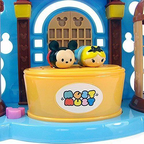 DISNEY TSUM TSUM STACK N PLAY TOY SHOP PLAY MICKEY MOUSE & ALICE FIGURES!