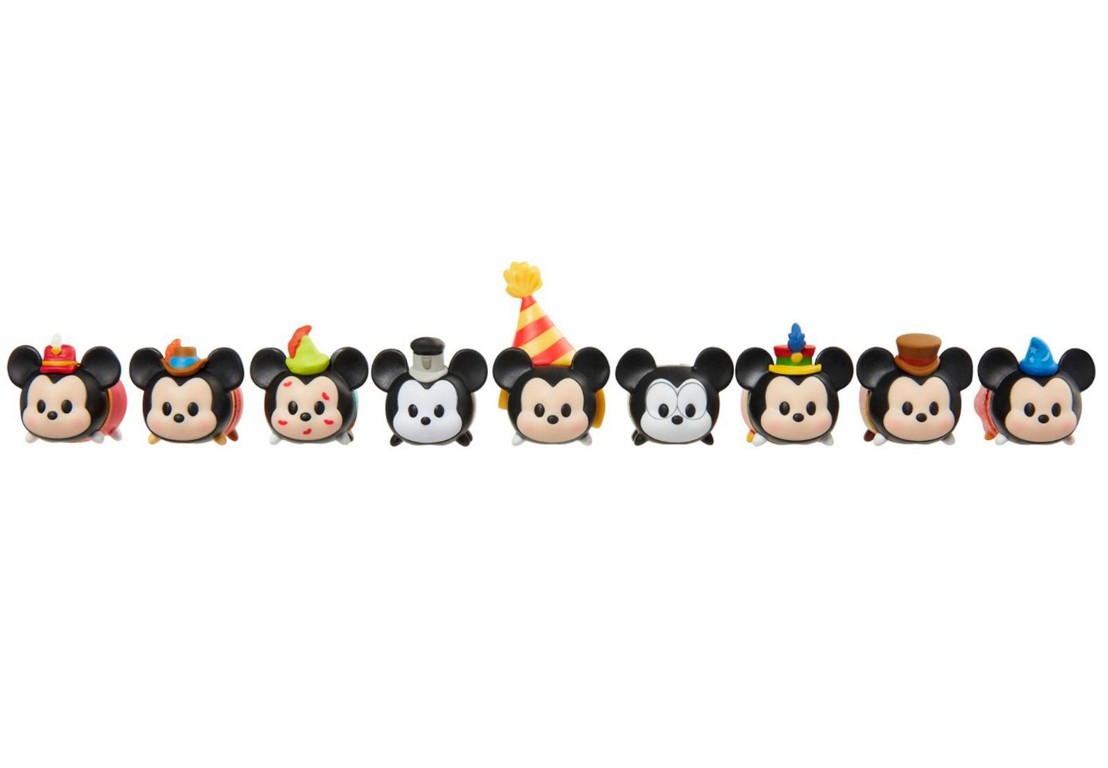 tsum tsum vinyl mickey through the years