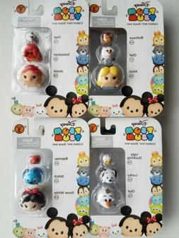 Lot of 4 Disney Tsum Tsum Series 3  with a set of OLAF NEW