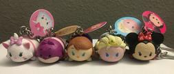 Lot of 5 Disney Tsum Tsum Series 1 Figure Charm Keychain Bli