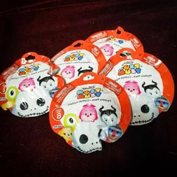 Lot Of 5 Disney Tsum Tsum Series 8 Mystery Packs with Stacka