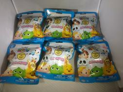 Lot of 6 Disney Tsum Tsum Unopened Blind Bags- Series 3 Squi