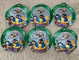 Lot of 6 Disney Marvel Tsum Tsum Series 5 Mystery Stack Pack