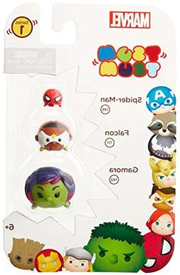Tsum Tsum Marvel 3-Pack: Gamora/Falcon/Spiderman Toy Figure