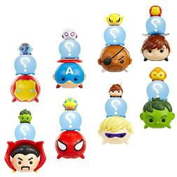 Jakks Pacific Marvel Tsum Tsum Mystery Pack Super Set -- 8 M