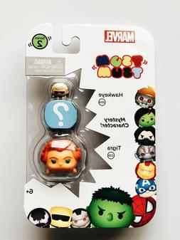Marvel Tsum Tsum 3 pack Series 2 Tigra Mystery character Haw