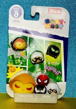 marvel tsum tsum series 6 3pack glows