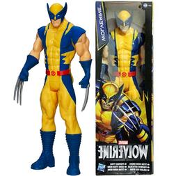 "Marvel X-Men Wolverine Titan Hero 12"" PVC Action Figure Kids"