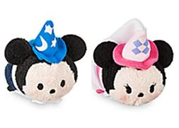 Mickey and Minnie Mini Tsum Tsum Fantasyland Collection