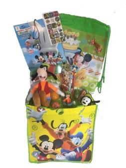 Mickey Mouse Clubhouse Plush Goofy Easter Basket Action Figu