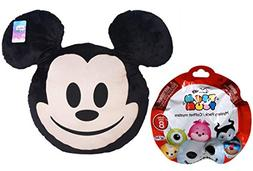 Mickey Mouse Mega Plush Pillow Disney Character Emoji Head &