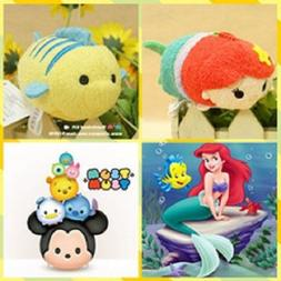 New 2pc Mini Tsum Tsum Plush Set: Ariel and Flounder From th