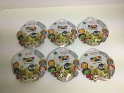 "NEW & SEALED Lot of 6 MARVEL Disney ""TSUM TSUM""  Series 2 My"