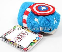NEW Authentic US Disney Marvel CAPTAIN AMERICA Mini Tsum Tsu