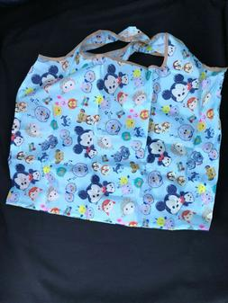 NEW Compact LARGE Disney Tsum Tsum Nylon Shopping Bag / Tote