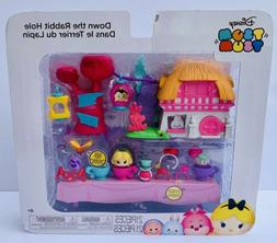 NEW! Disney Tsum Tsum Down The Rabbit Hole Play Set 21 pc