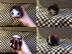 New Hand Made Kingdom Hearts 3 Sora Stackable Tsum Plush Stu
