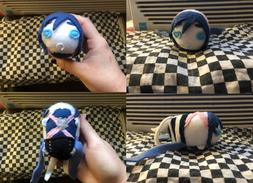 New Hand Made Kingdom Hearts Aqua Stackable Tsum Plush Stuff