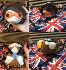 New Hand Made Overwatch Tracer Stackable Tsum Plush Stuffed