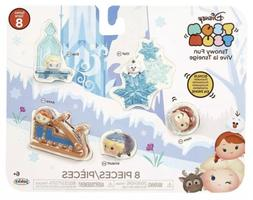 Disney Tsum Tsum Tsnowy Fun Frozen 8 Piece Pack Play Set New