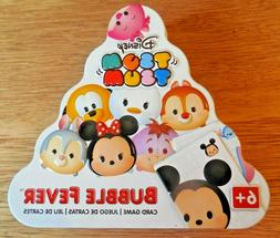"""NEW/SEALED Disney Tsum Tsum """"Bubble Fever"""" Card Game in Coll"""