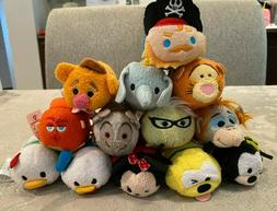 New Disney TSUM TSUM Mini Soft Plush Toys 3.5""