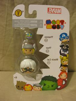 New Marvel Tsum Tsum Series 1-Iron man set, Black Window set