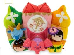 "NWT Disney Parks ""It's a Small World"" Tsum Tsum Set Plush Se"
