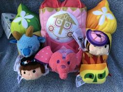 Disney Parks It's a Small World Tsum Tsum Set  Plush NWT
