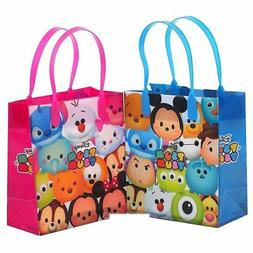 "New Party Favor Disney Tsum Tsum Kids 6"" Party Gift Bag- 12"