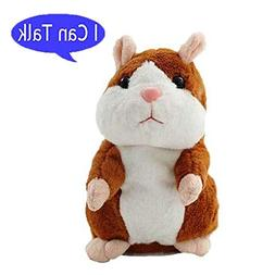 Plush Interactive Toys PRO Talking Hamster Repeats What You