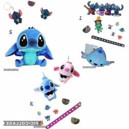 Plush LILO And Stitch Doll Action Figures Figurine Playset B