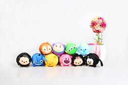 Replica Tsum Tsum Disney Set of 10 - Mickey Minnie Stitch Da