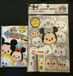 Disney's Tsum Tsum Stationary Glitter Poster Play Pack Color