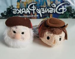 Disney Parks Set of 2 Toy Story Stinky Pete & Woody Tsum Tsu