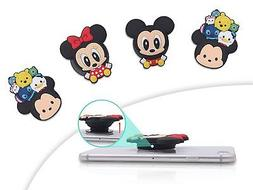 Finex Set of 4 Tsum Tsum Mickey Mouse and Minnie Mouse Cell