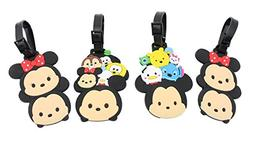 Finex Set of 4 - Tsum Tsum Mickey Mouse Minnie Mouse Travel