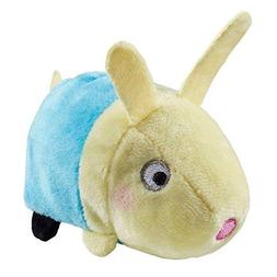 Peppa Pig Stackable 9cm Rebecca Soft Plush Toy