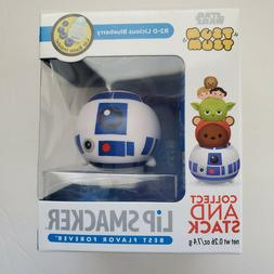 Star Wars Tsum Tsum Lip Smacker R2 D2 Licious Blueberry Lip