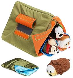 Disney Store Mini Tsum Tsum Special Camp Set with Plush Tent