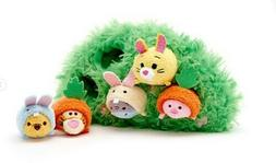 Disney Store Winnie the Pooh and Pals Micro Tsum Plush Easte