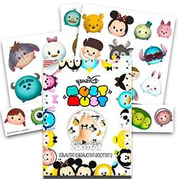 Disney Tsum Tsum Tattoo Party Favors Set -- Pack of 25 Jumbo