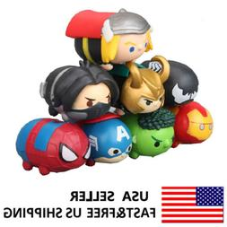 The Avengers Tsum Iron Man Spiderman Action Figure Doll Kids