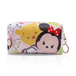Finex Tsum Tsum Cosmetic Bag Make up Case Makeup Organizer C