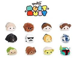 "Disney Tsum Tsum ""Star Wars"" Complete Set of 12 mini 3.5"""