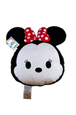 "Disney Tsum Tsum Minnie Mouse Face Pillow Buddy Plush 19"" x"