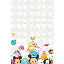 TSUM TSUM PLASTIC TABLE COVER ~ Birthday Party Supplies Deco