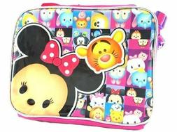 Disney Tsum Tsum School Lunch Bag Insulated Snack Cooler Box