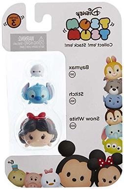 "Disney Tsum Tsum Series 3 Baymax, Stitch & Snow White 1"" Min"